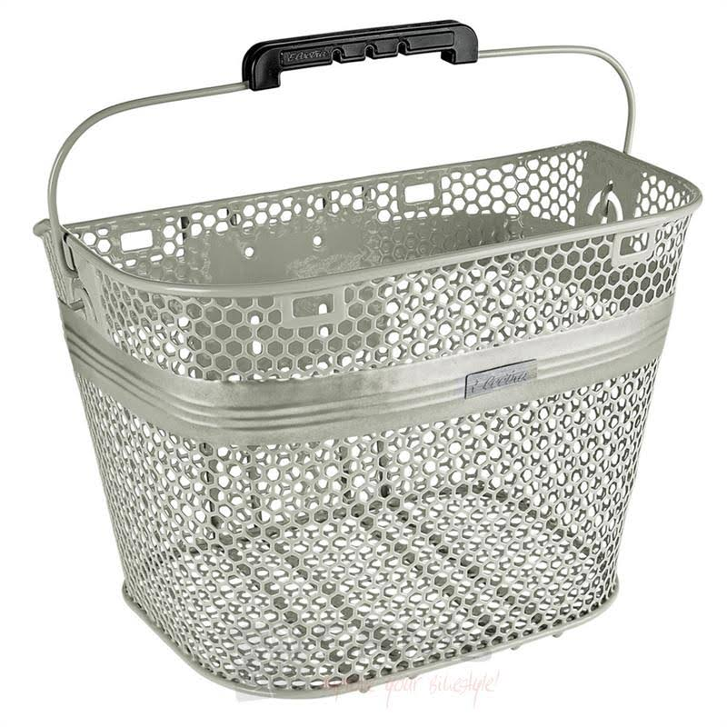 Quick-Release Linear Bike Basket