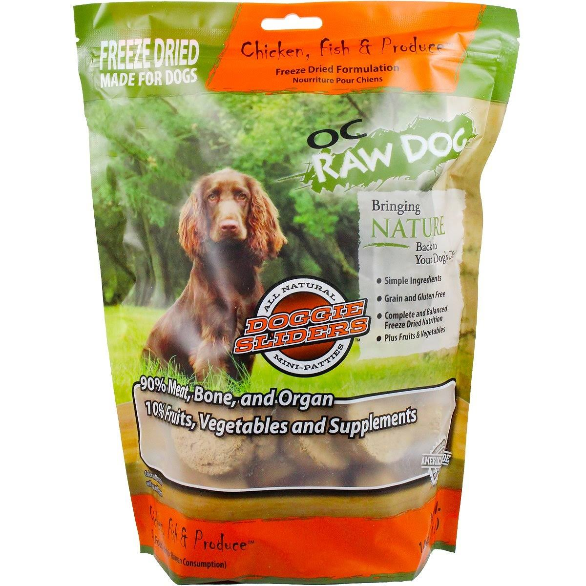 OC Raw Dog Freeze Dried - Chicken Fish & Produce