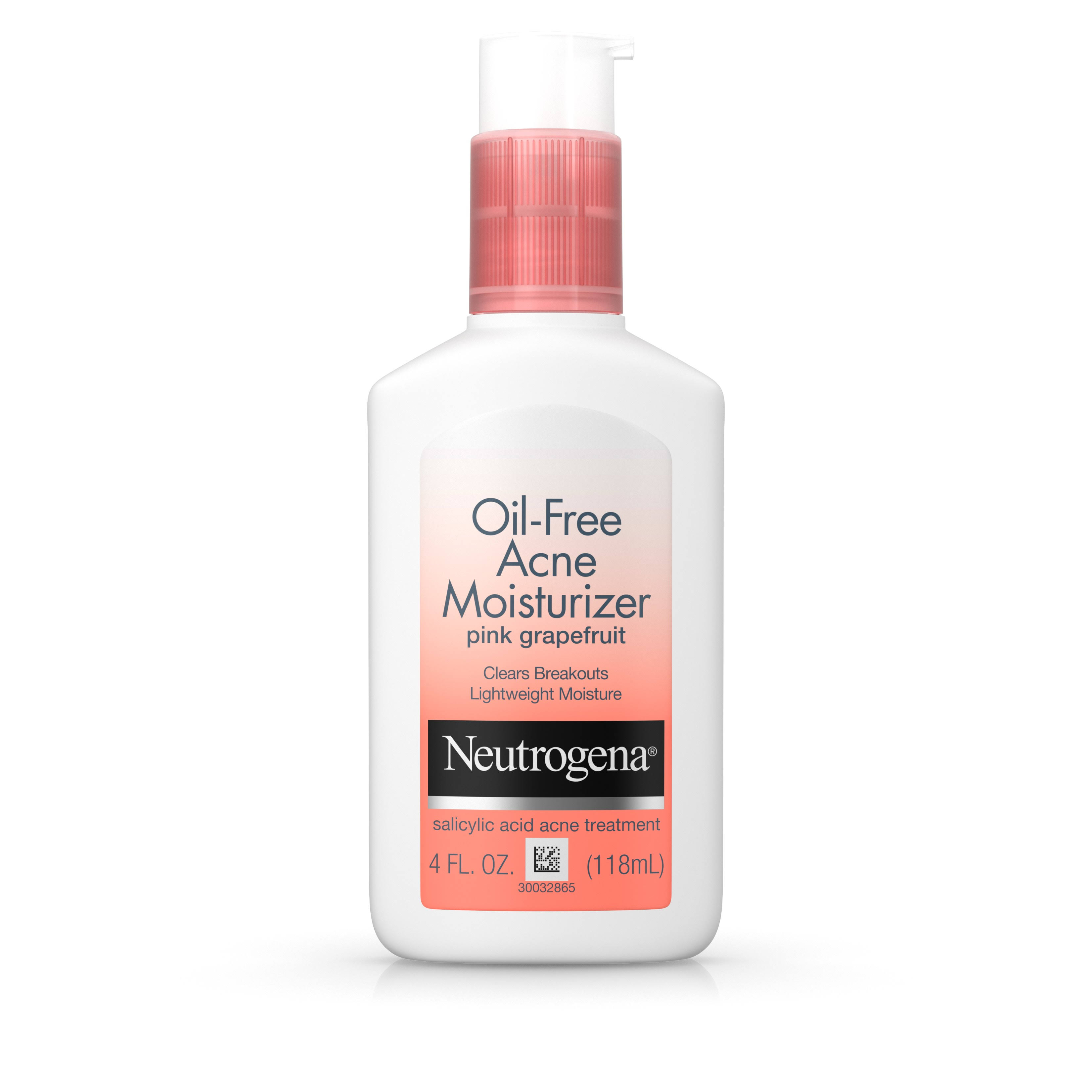 Neutrogena Pink Grapefruit Oil Free Acne Moisturizer - 4oz