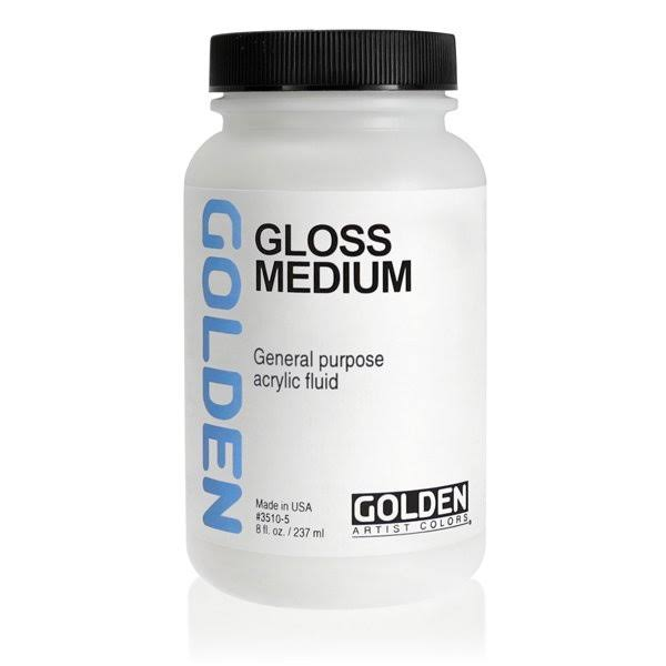 Golden Medium Polymer Acrylic Color - Medium Gloss, 8oz