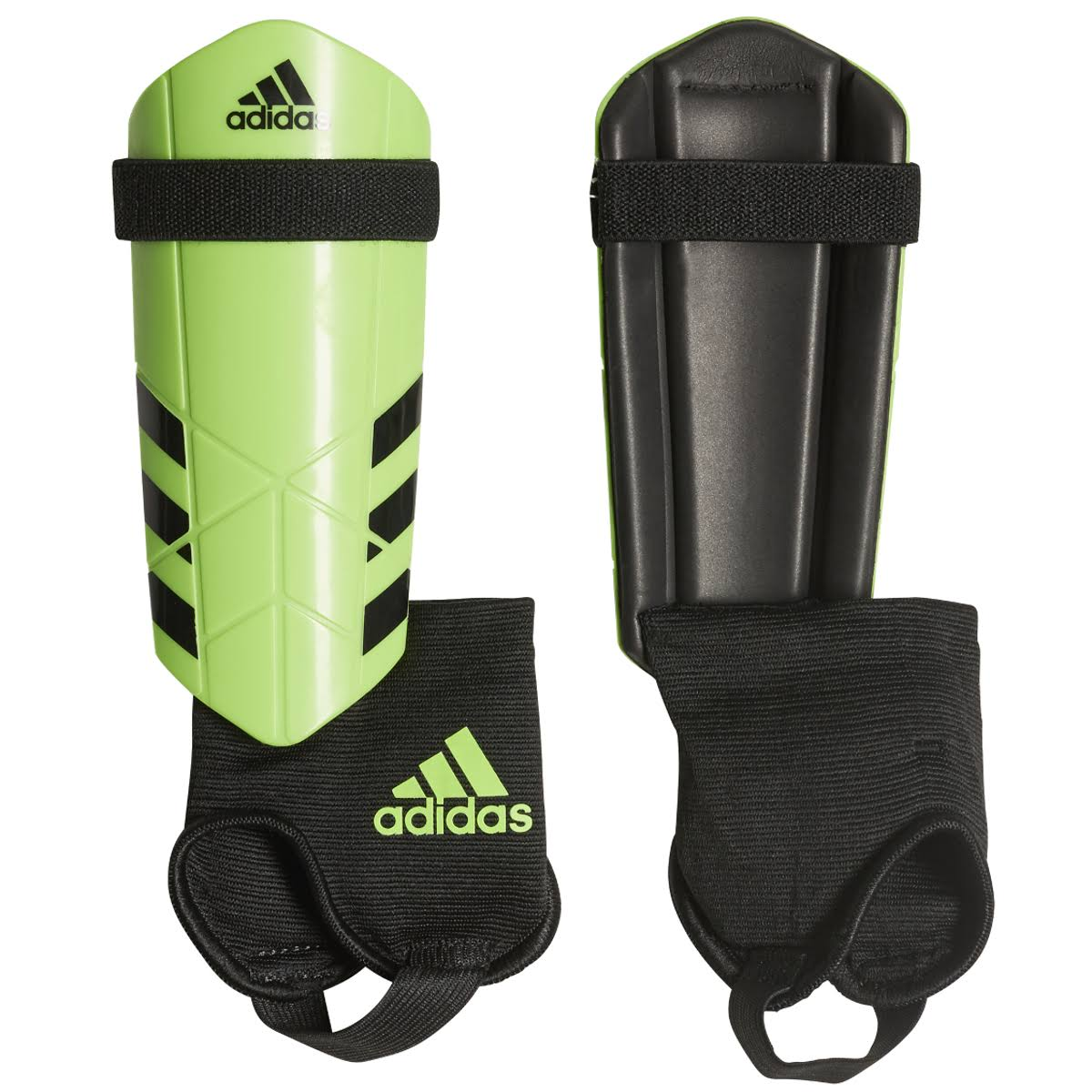 Adidas Performance Ghost Youth Shin Guards - Solar Green, Medium