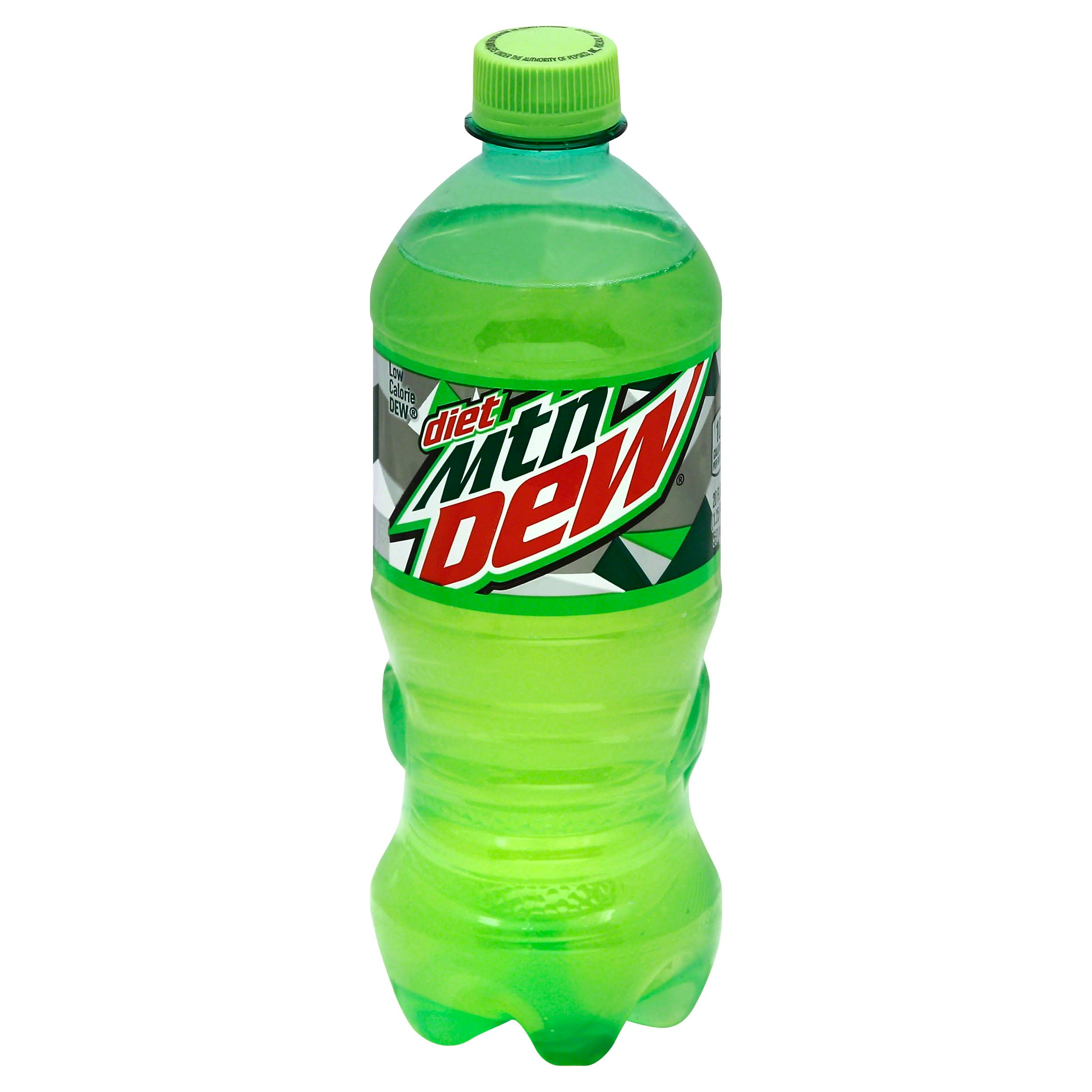 Mountain Dew Diet Soda - 20 oz