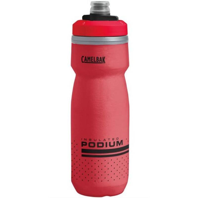 Camelbak Podium Chill Water Bottle - Fiery Red, 21oz