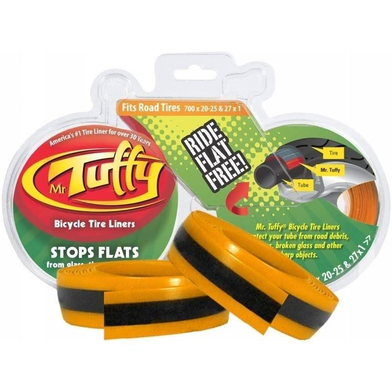 Mr. Tuffy Bicycle Tire Liner - Orange