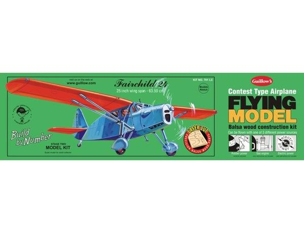 Guillows Cessna Skyhawk 172 Balsa Wood Airplane Model Kit