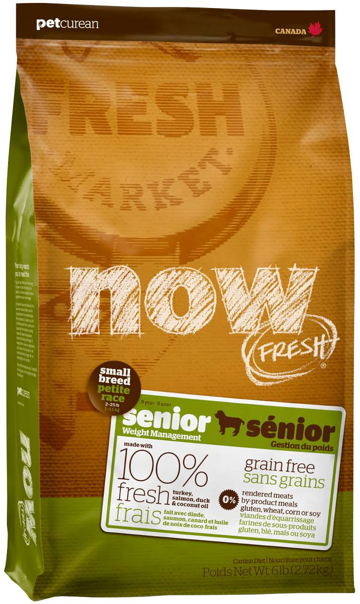 Go Now Grain Dog Food - Small Breed, Senior, 12lb