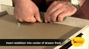 South Shore Libra 3 Drawer Dresser by How To Replace A South Shore Furniture Drawer Front Youtube