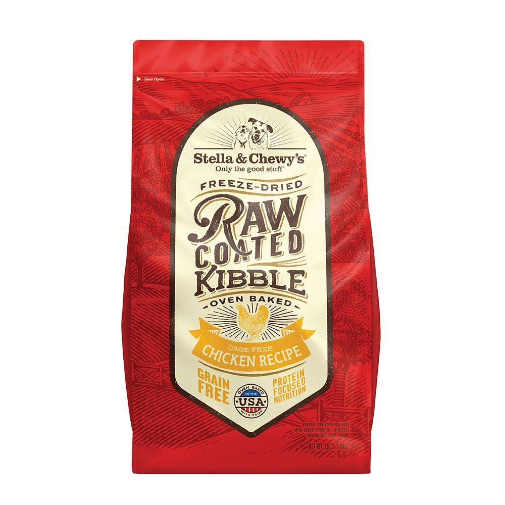 Stella & Chewy's 3.5 lb Raw Coated Chicken Recipe Dog Food