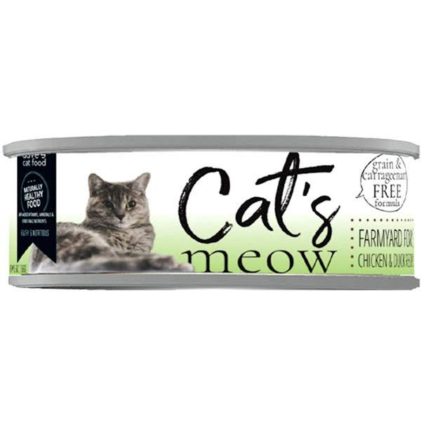 Dave's Pet Food Dave's Cat's Meow Farmyard Fowl Canned Cat Food - Can