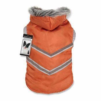 Zack & Zoey Elements Arc Reflective Coat, Small, Orange