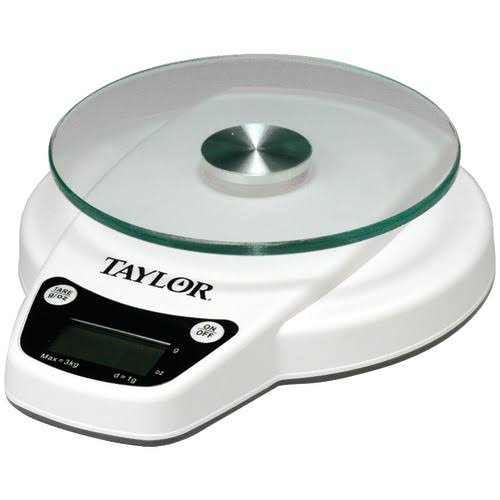 Taylor Digital Kitchen Scale - Silver