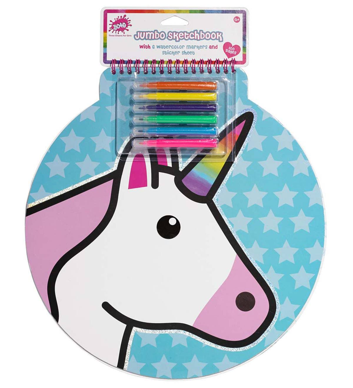 3C4G Unicorn Jumbo Sketch Book