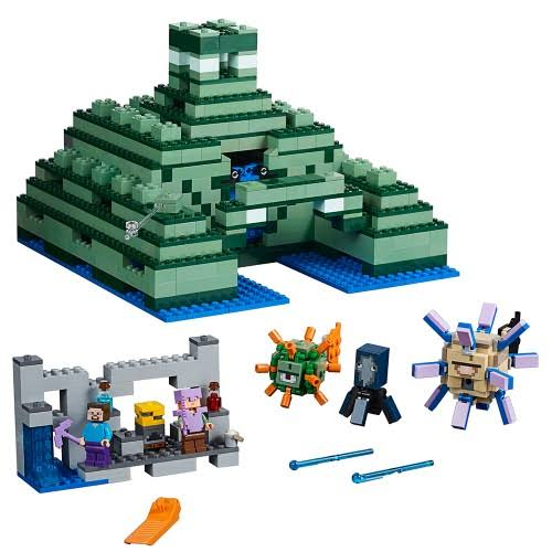 Lego Minecraft 21136 The Ocean Monument Building Toys
