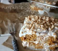 Cake Mix And Pumpkin by Pumpkin Spice Crunch Cake Oh Bite It