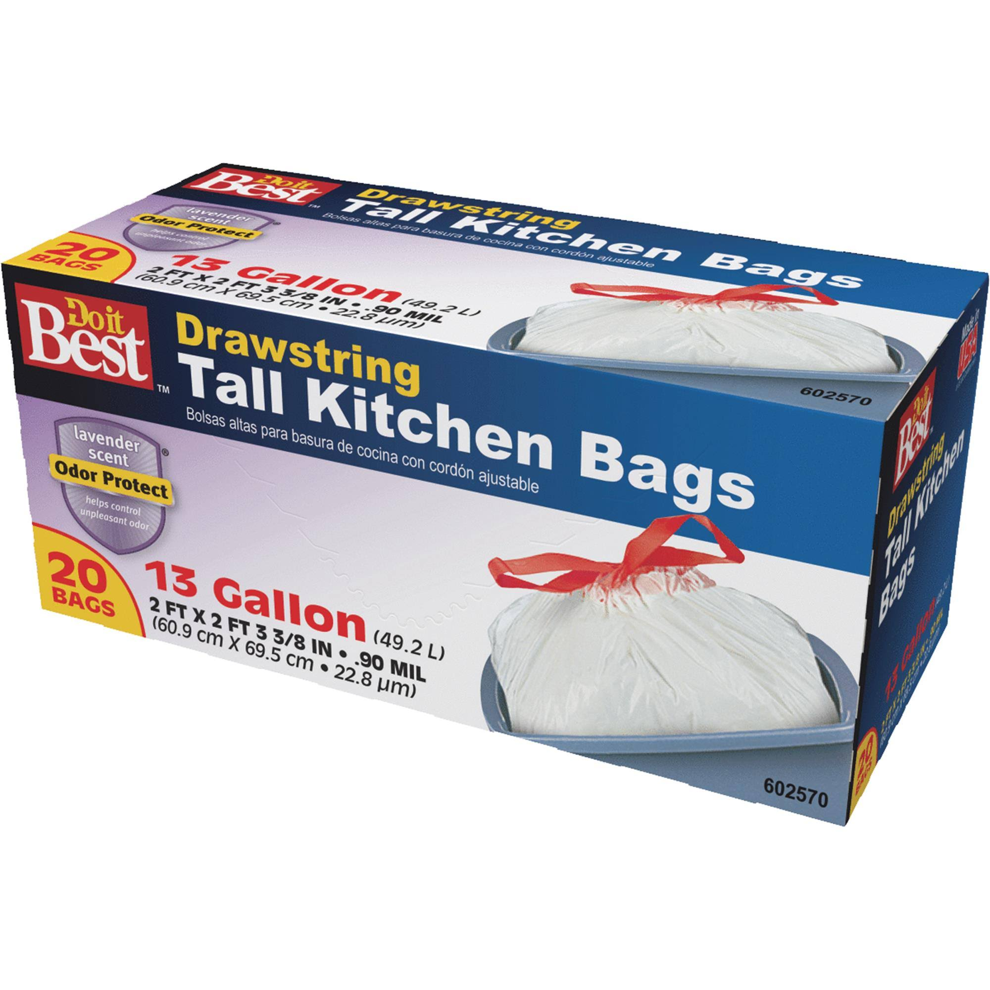 Do It Best Tall Kitchen Trash Bag - 20 Bags