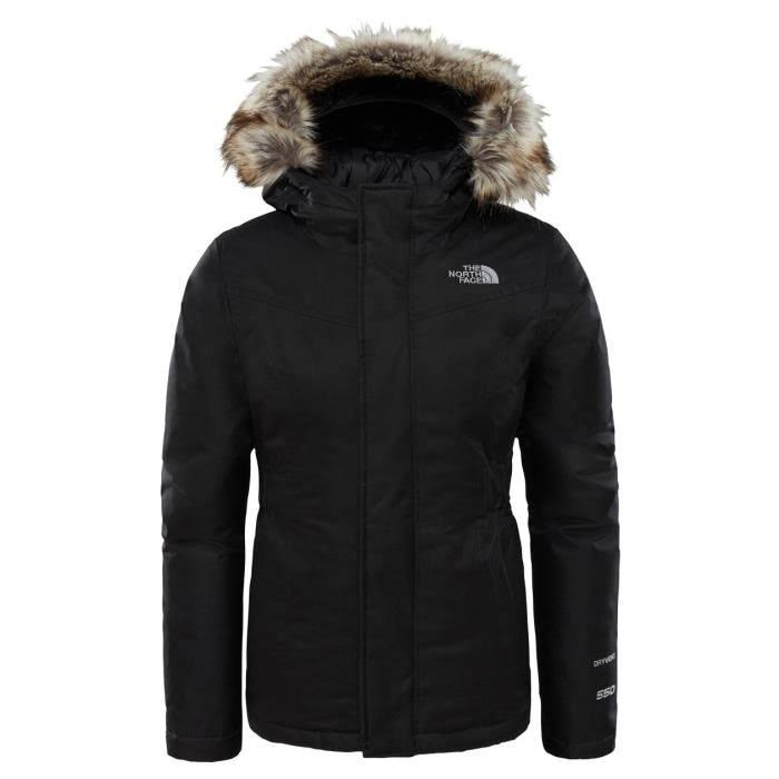 The North Face Girls Greenland Down Parka TNF Black TNF Black XL