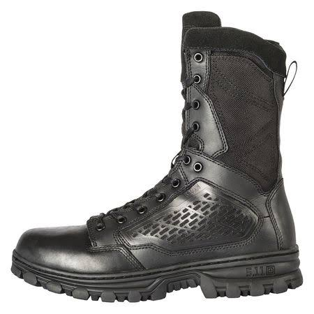 5.11 Tactical Men's 12310 Evo Hiking Boots - Black, USM10.5