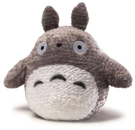 Gund Fluffy Big Totoro Plush - Grey, 13""