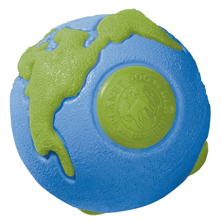 Planet Dog Orbee-tuff Orbee Large Ball - Blue & Green