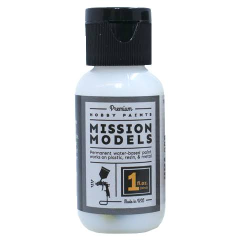 Mission Models Acrylic Model Paint 1 oz Bottle, Gloss Clear MMA-006