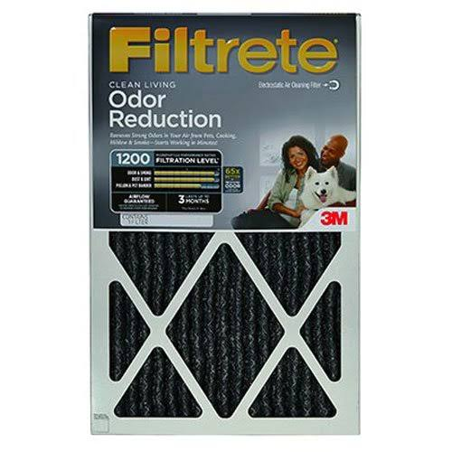 "3M Home02-4 Filtrete Odor Reduction Filter - 20"" X 20"""