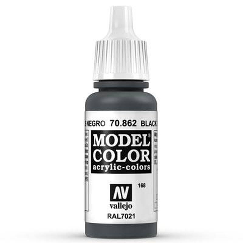 Vallejo Model Color - Black, 17ml