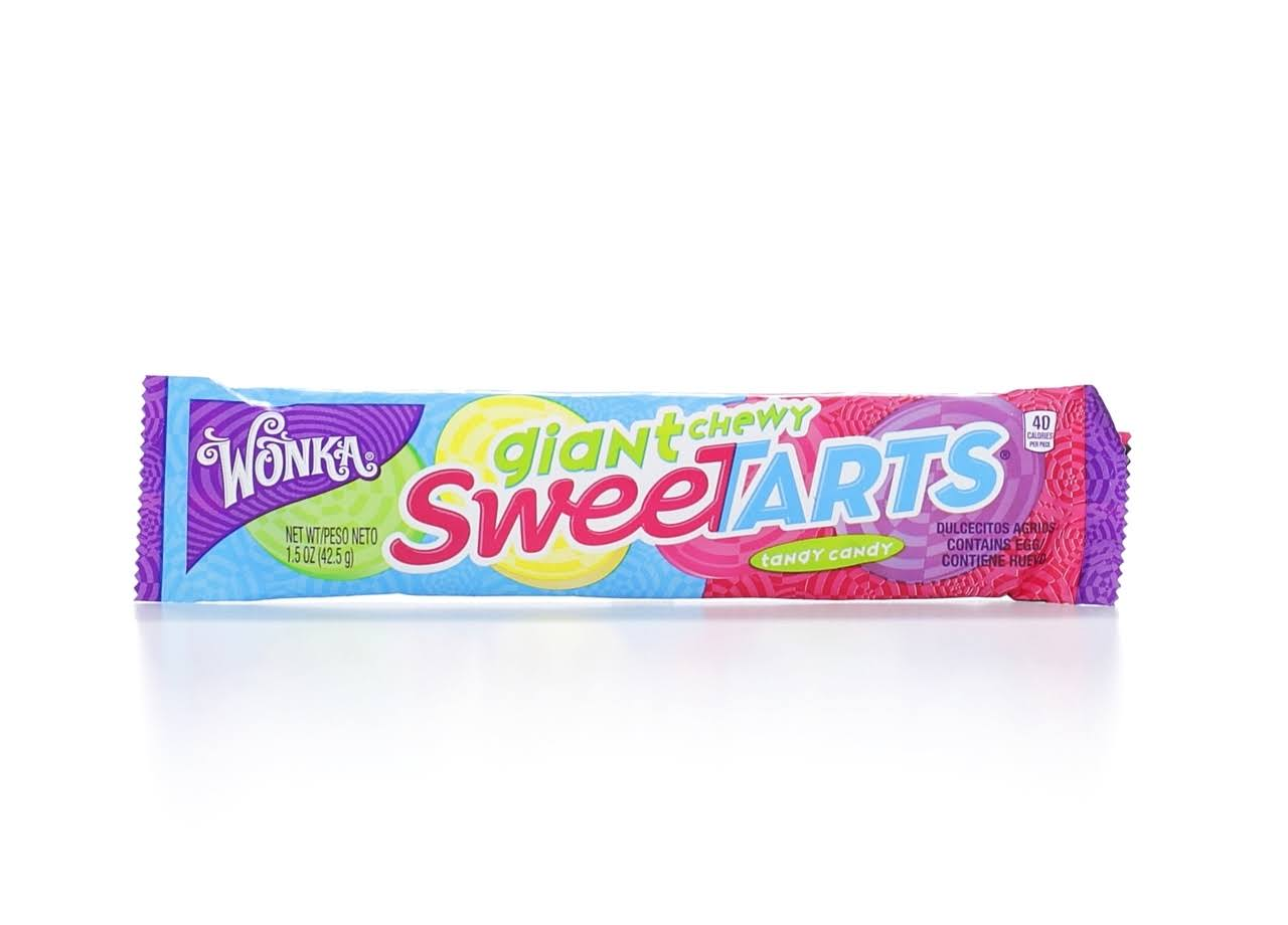 Sweetarts Candy, Tangy, Chewy, Giant - 1.5 oz