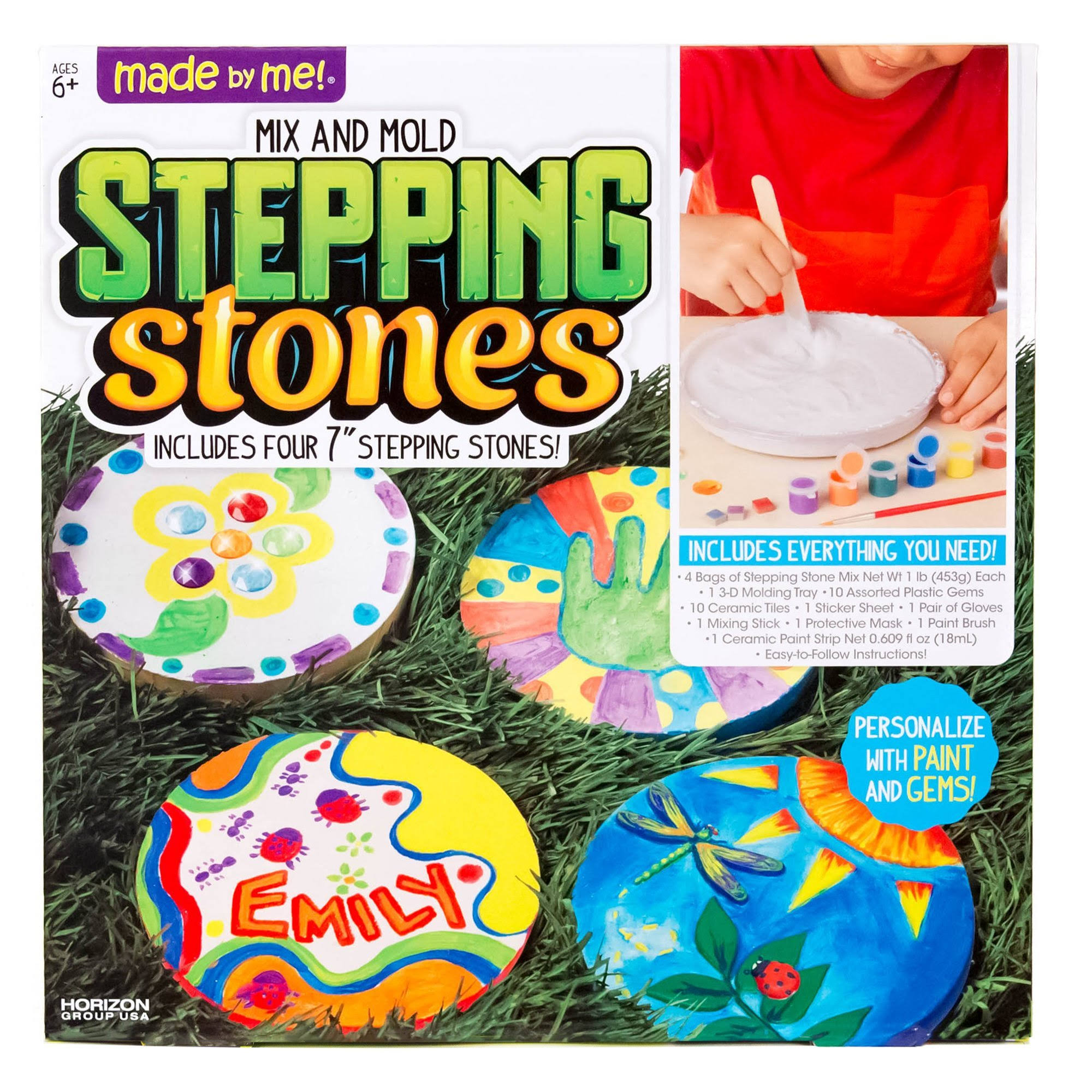 Made By Me Create Your Own Stepping Stones Kit
