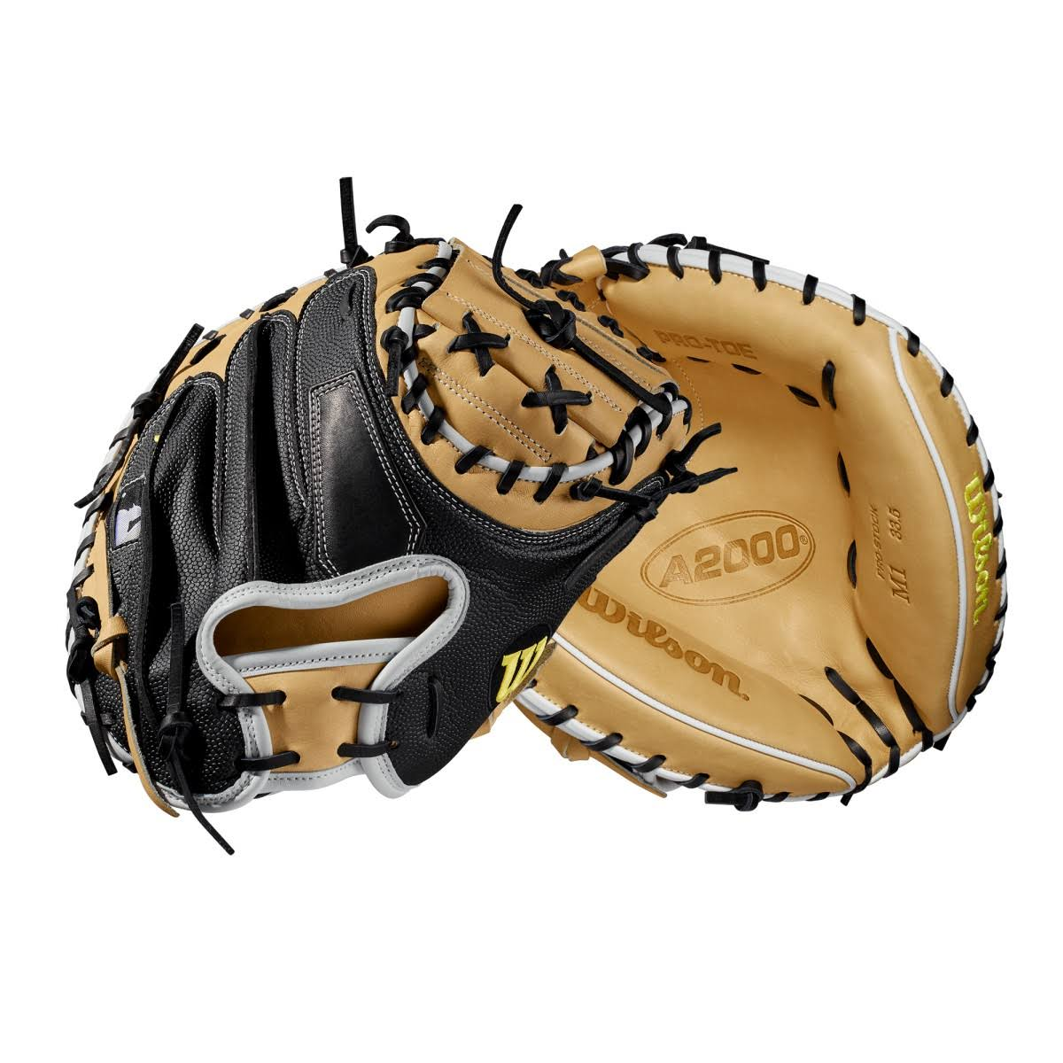 "Wilson A2000 M1 SuperSkin 33.5"" Baseball Catcher's Mitt"