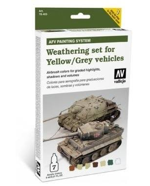 Vallejo AFV Weathering for Yellow and Grey Vehicles