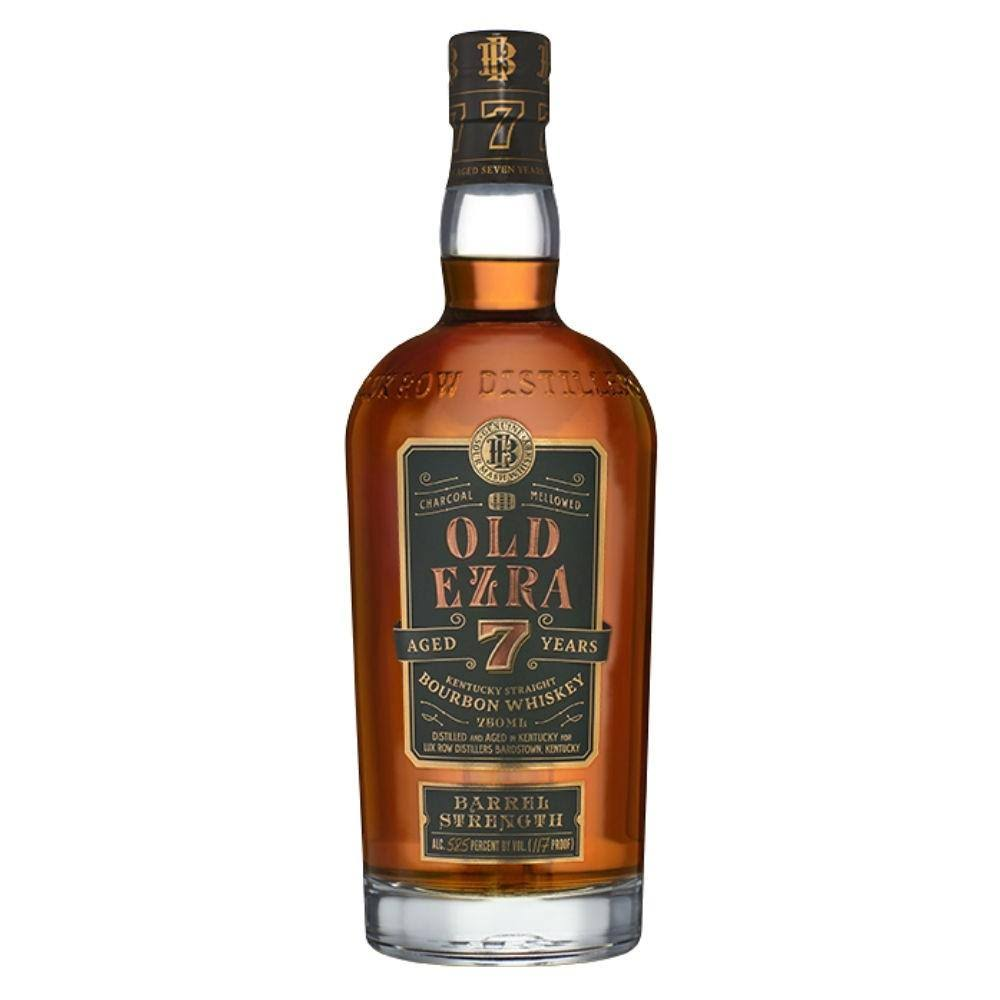 Old Ezra Barrel Strength Bourbon 7 Year 750ml