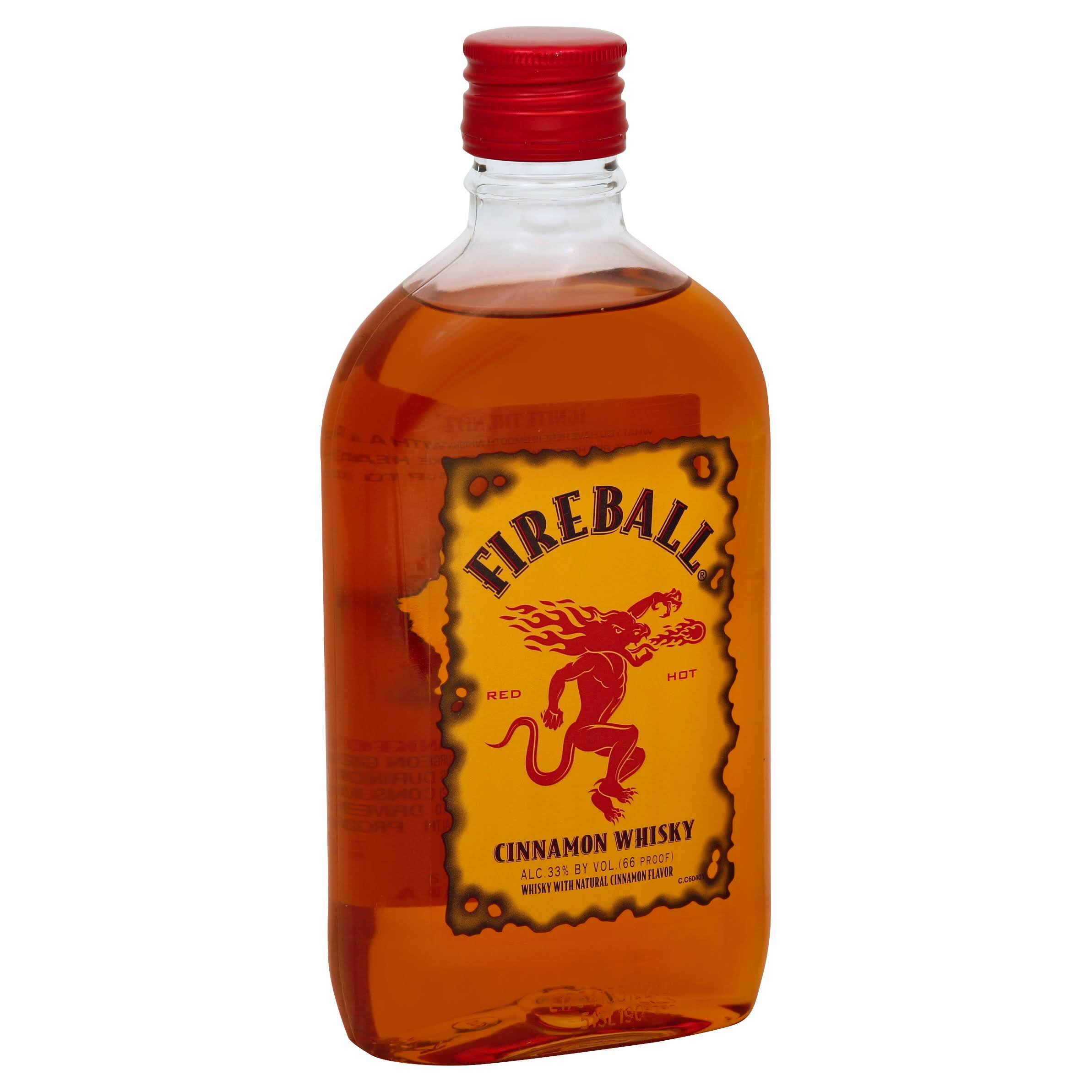 Fireball Whisky, Cinnamon - 375 ml