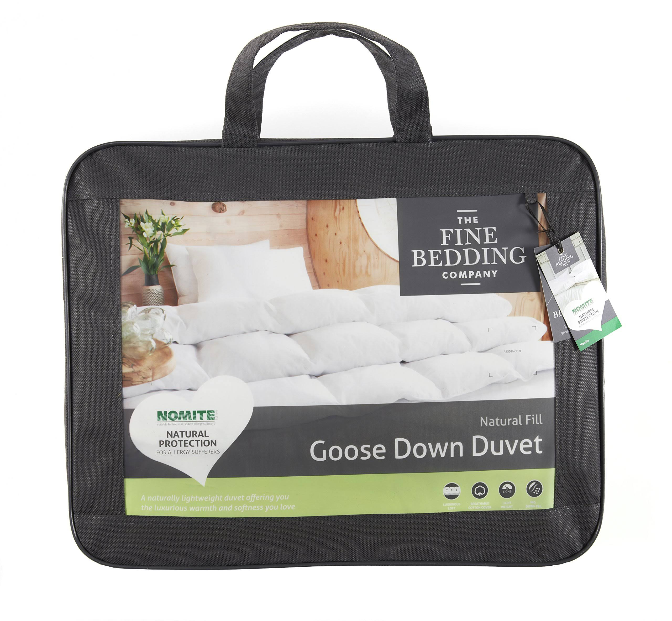 The Fine Bedding Company 60% Goose Down Duvet, 13.5 Tog