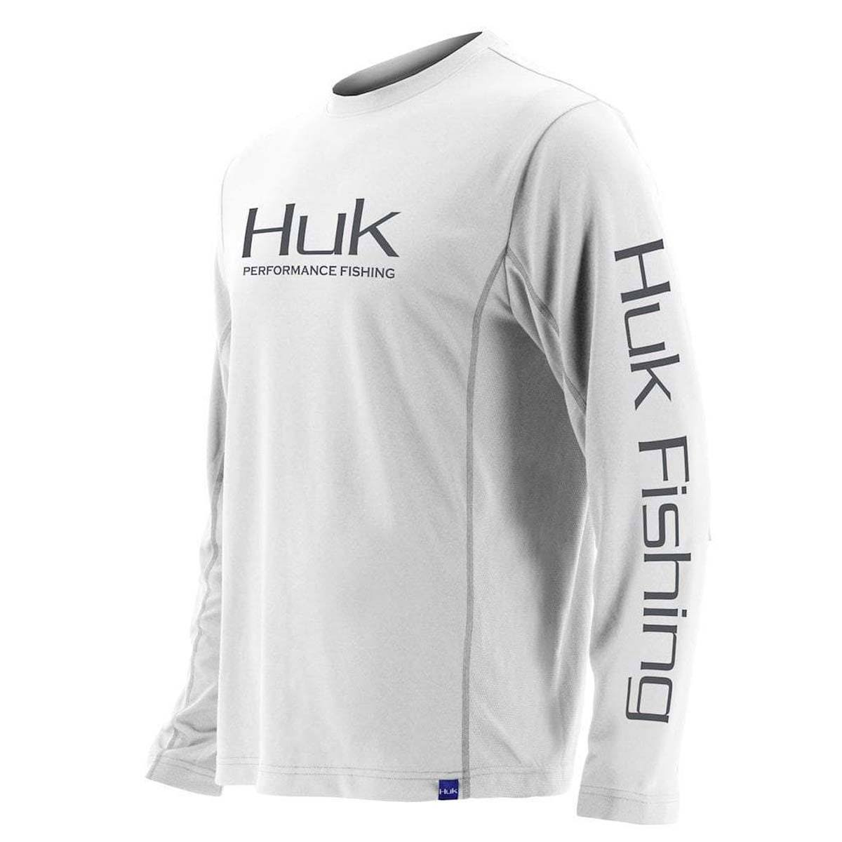 Huk Icon x Long Sleeve Shirt - White - XL
