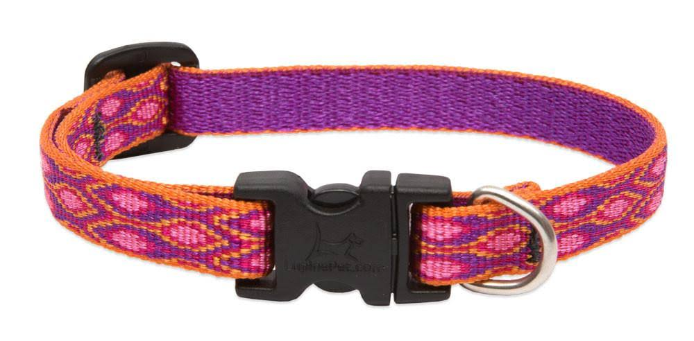 "LupinePet Alpen Glow Adjustable Dog Collar - 1/2""x6-9"""