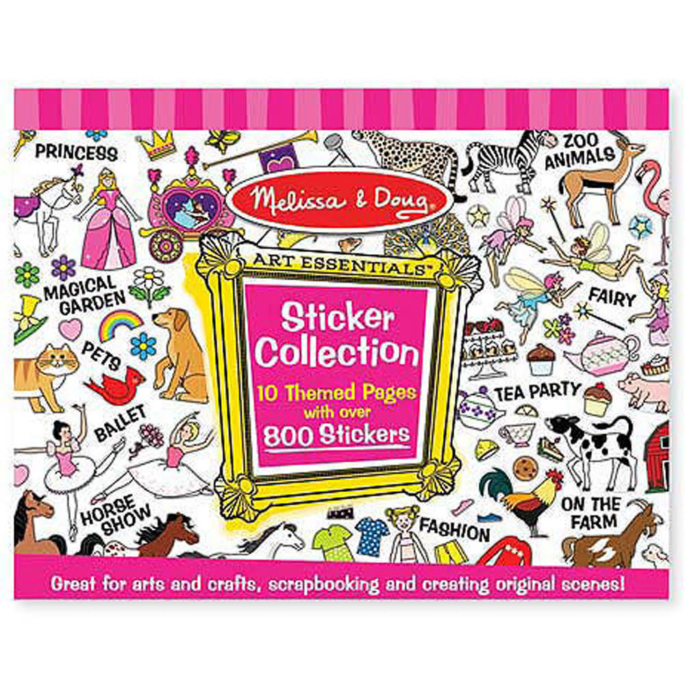 Melissa & Doug Sticker Collection - 700 Stickers