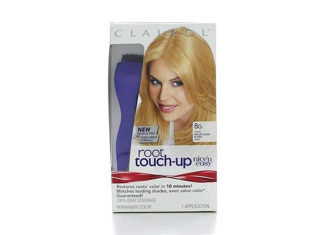 Clairol N Easy Root Touch Up Permanent Hair Color - Medium Golden Blonde, 8g