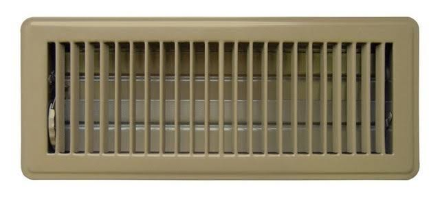 "Tru Aire C150mb Floor Supply Grill Register - 4"" x 12"""