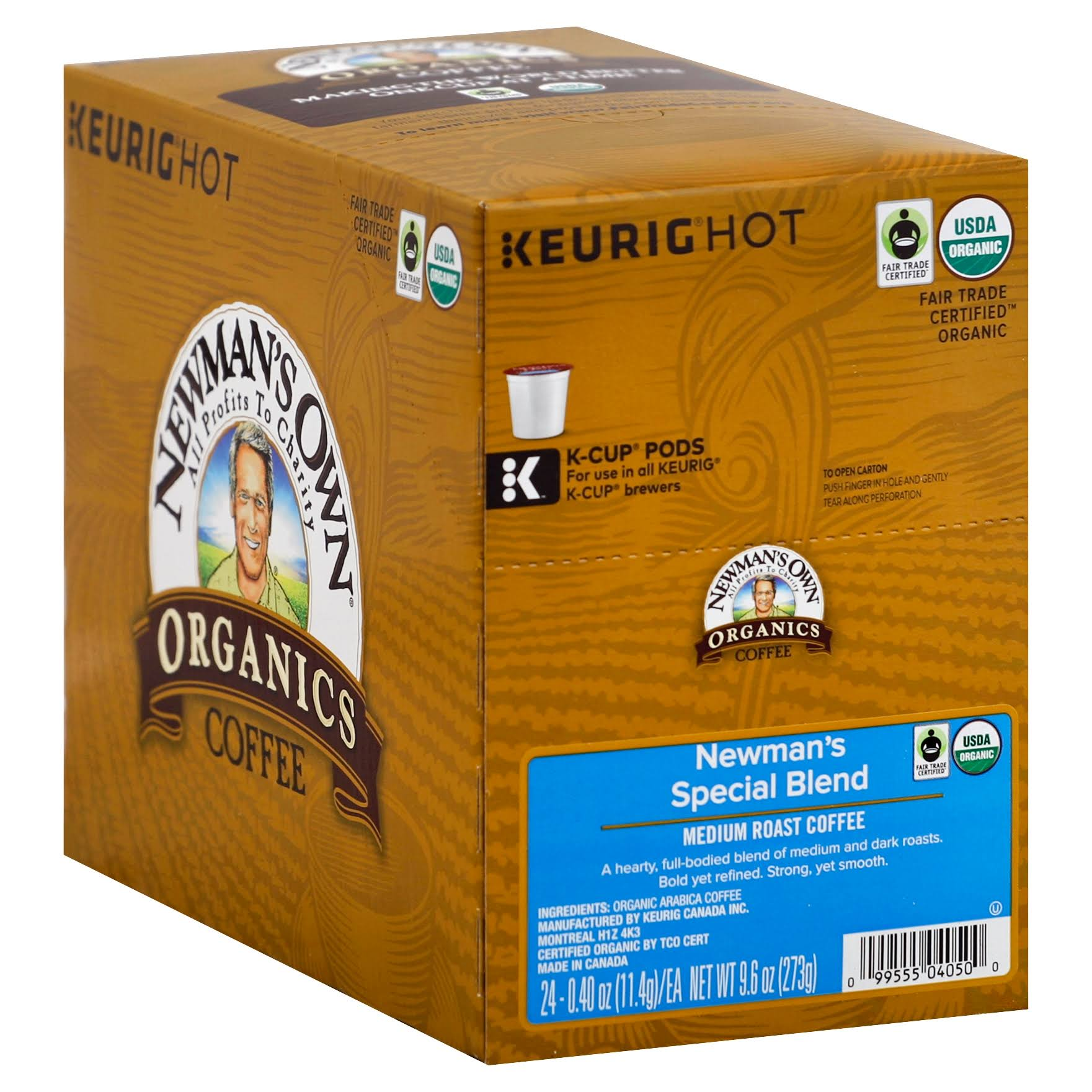 Green Mountain Coffee Newman's Special Blend Medium Roast K-Cup - 24ct