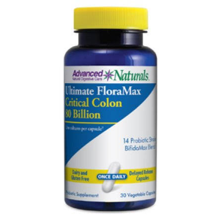 Advanced Naturals Ultimate Floramax Critical Colon Supplement - 30ct