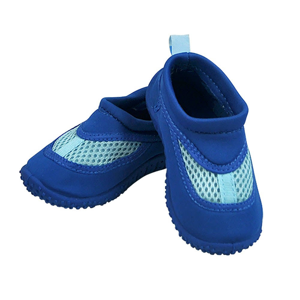 iPlay Baby Swim Shoes - Blue, Size 6 US
