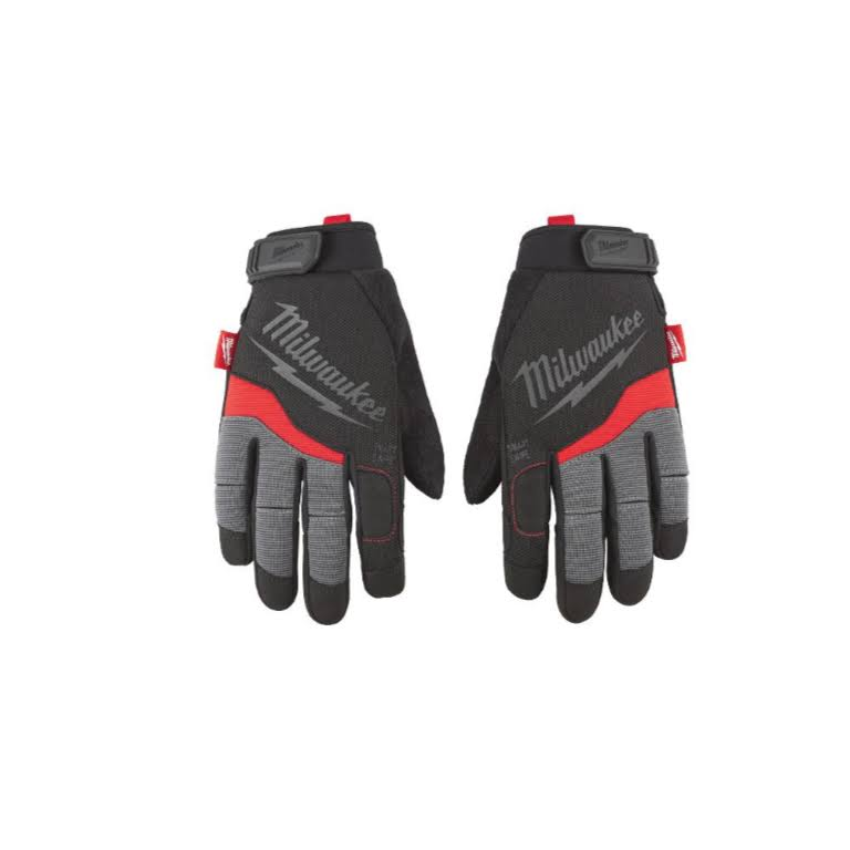 Milwaukee Performance Work Gloves - Black, Large