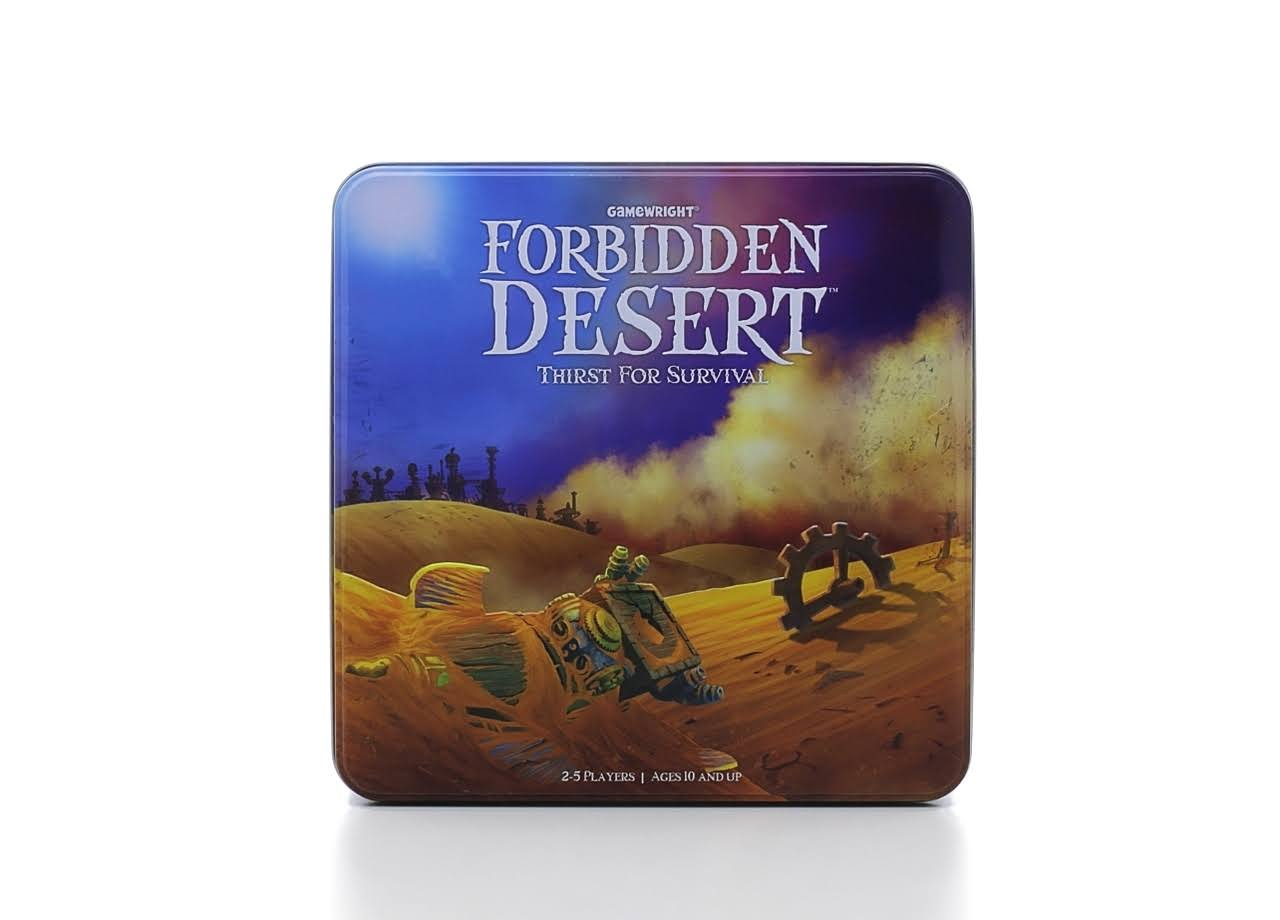 Forbidden Desert Thirst For Survival - Family Card Board Game