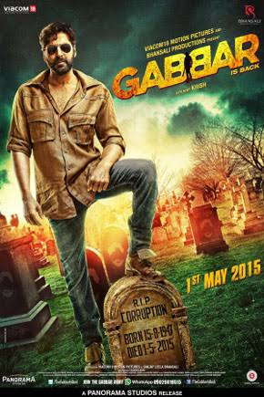 Gabbar is Back 2015 Hindi Movie Download Watch Online 720p DVDRip