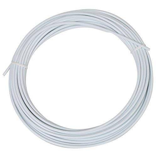 Sunlite Lined Brake Cable Housing - White, 5mm X 50'