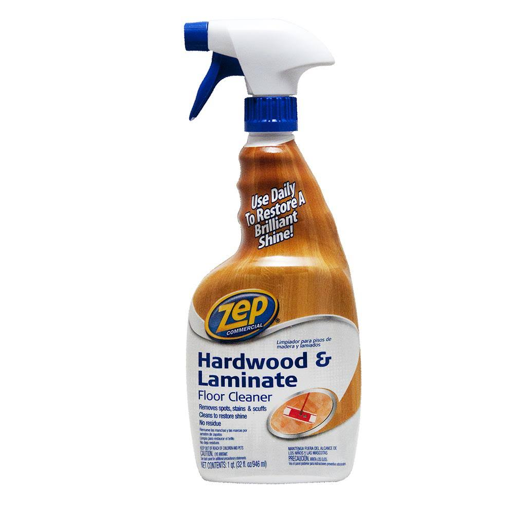 Zep Hardwood And Laminate Floor Cleaner