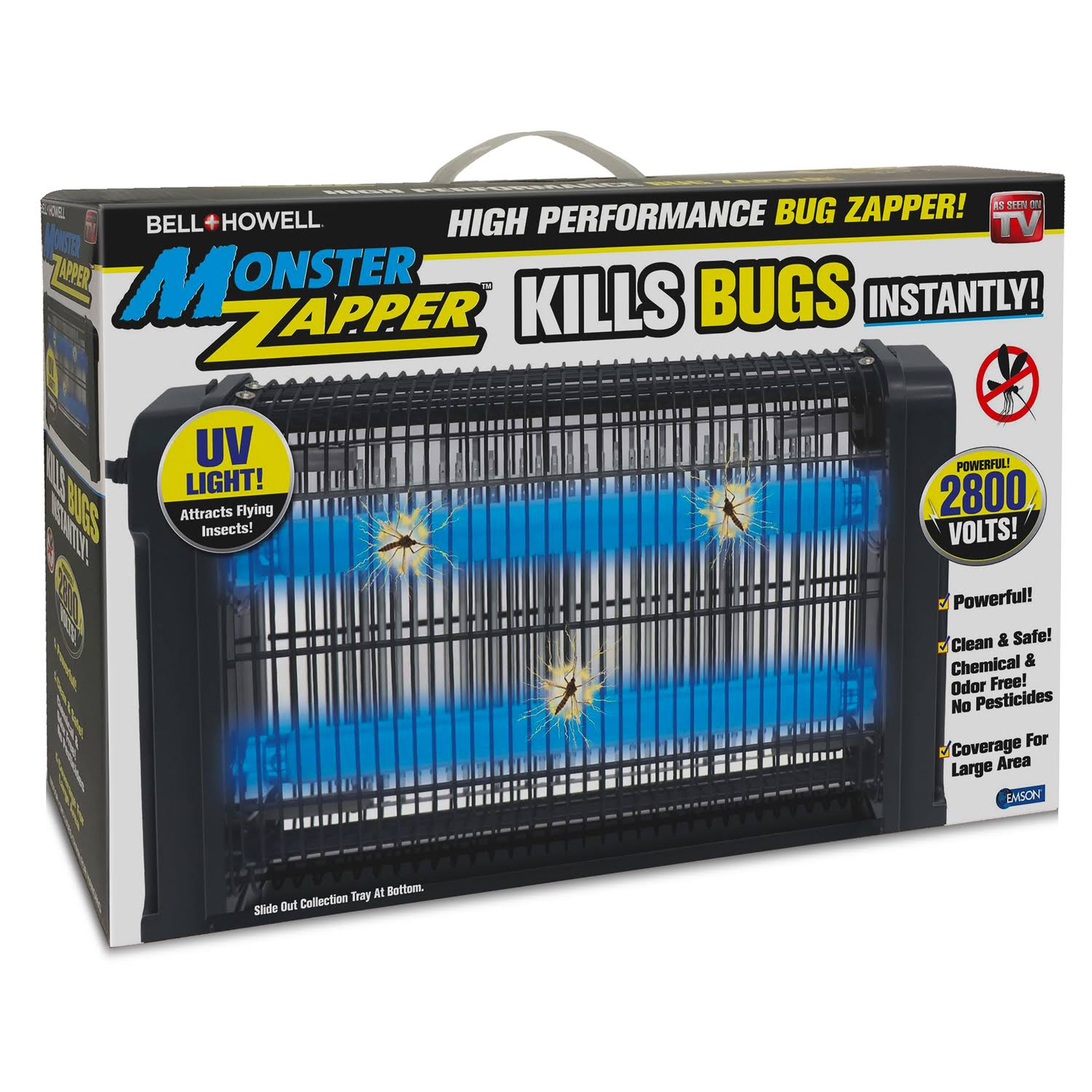 Bell Howell Monster Zapper Electric Bug and Fly Zapper - 20w