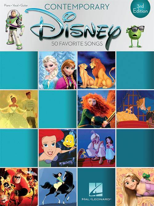 Contemporary Disney: 50 Favorite Songs - Hal Leonard