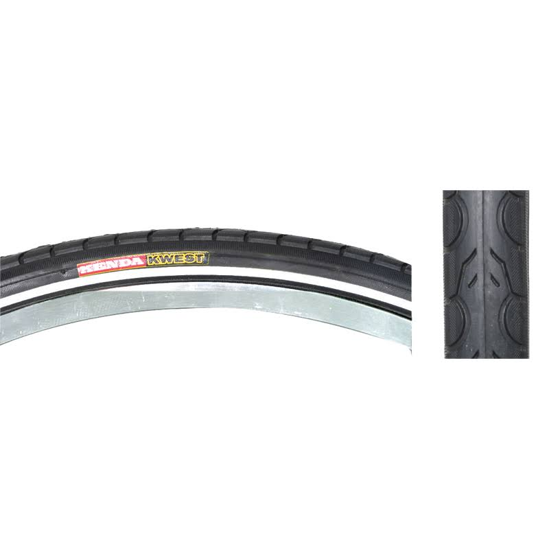 "Kenda Kwest Tire - Black, 26"" x 1.95"""