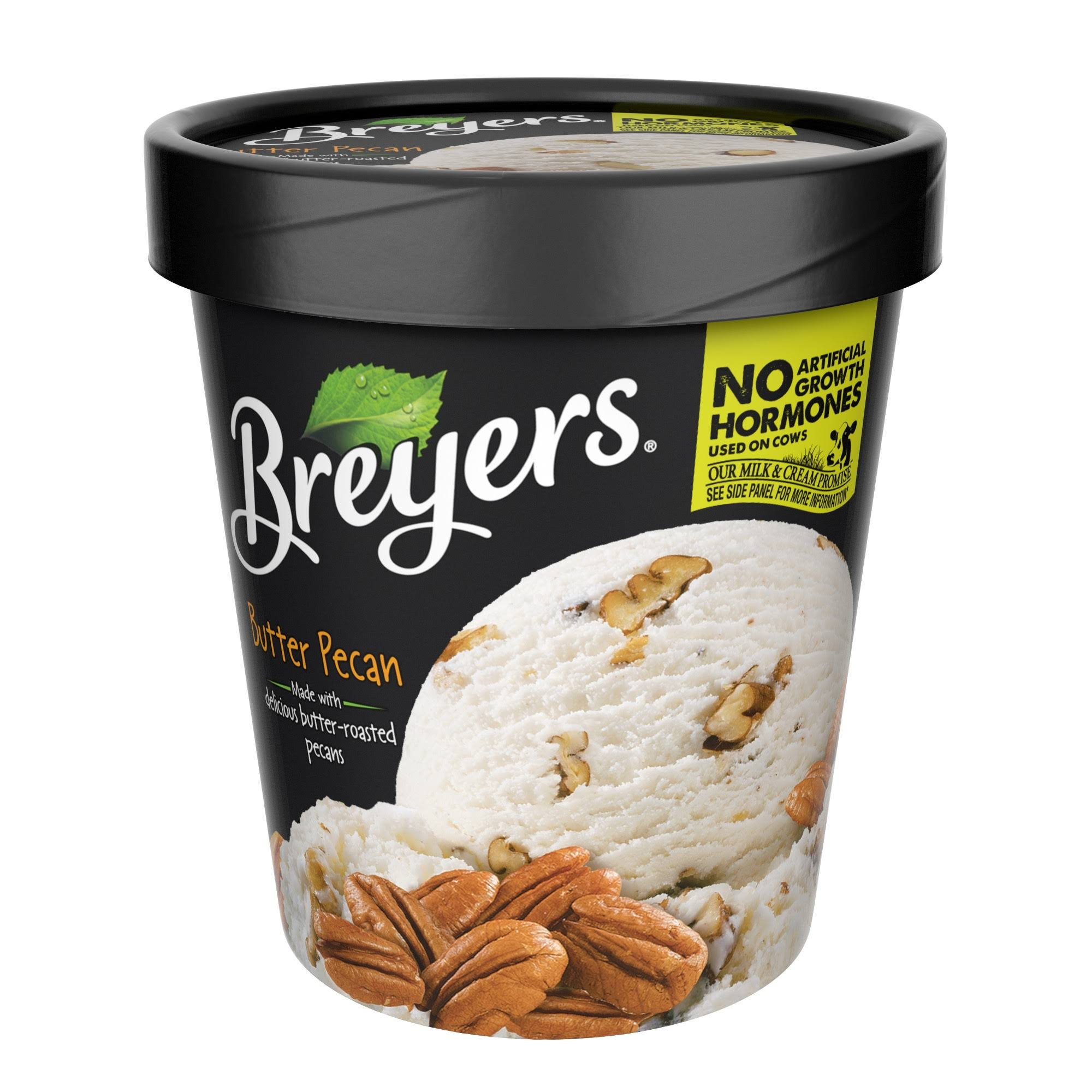Breyers Ice Cream - Butter Pecan, 1pt